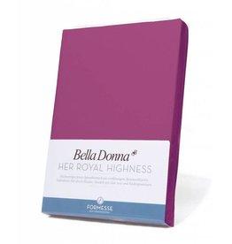 Bella Donna stretch hoeslaken - Fuchsia