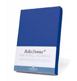 Bella Donna stretch hoeslaken - Royal Blauw