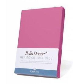 Bella Donna stretch hoeslaken - Flamingo