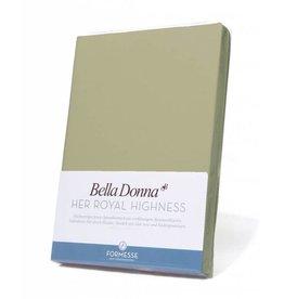 Bella Donna stretch hoeslaken - Pistache