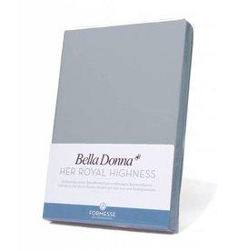 Bella Donna stretch hoeslaken - Lichtgrijs