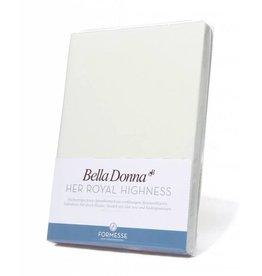 Bella Donna stretch hoeslaken - Wolwit