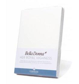 Bella Donna stretch hoeslaken - Wit