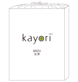 Kayori Perkal-katoen hoeslaken - Wit