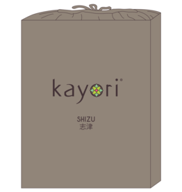 Kayori Perkal-katoen hoeslaken - Taupe