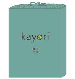 Kayori Perkal-katoen hoeslaken - Groen