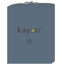 Kayori Perkal-katoen hoeslaken - Donkerblauw