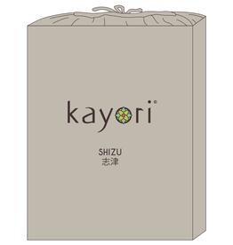 Kayori Perkal-katoen hoeslaken - Zand