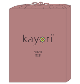 Kayori Perkal-katoen hoeslaken - Oudroze