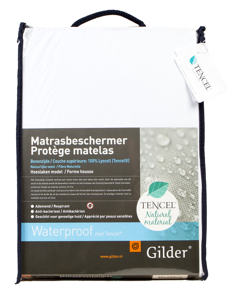 Matrasbeschermer Waterproof met Tencel