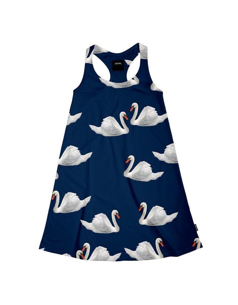 SNURK Tank dress Swan Lake