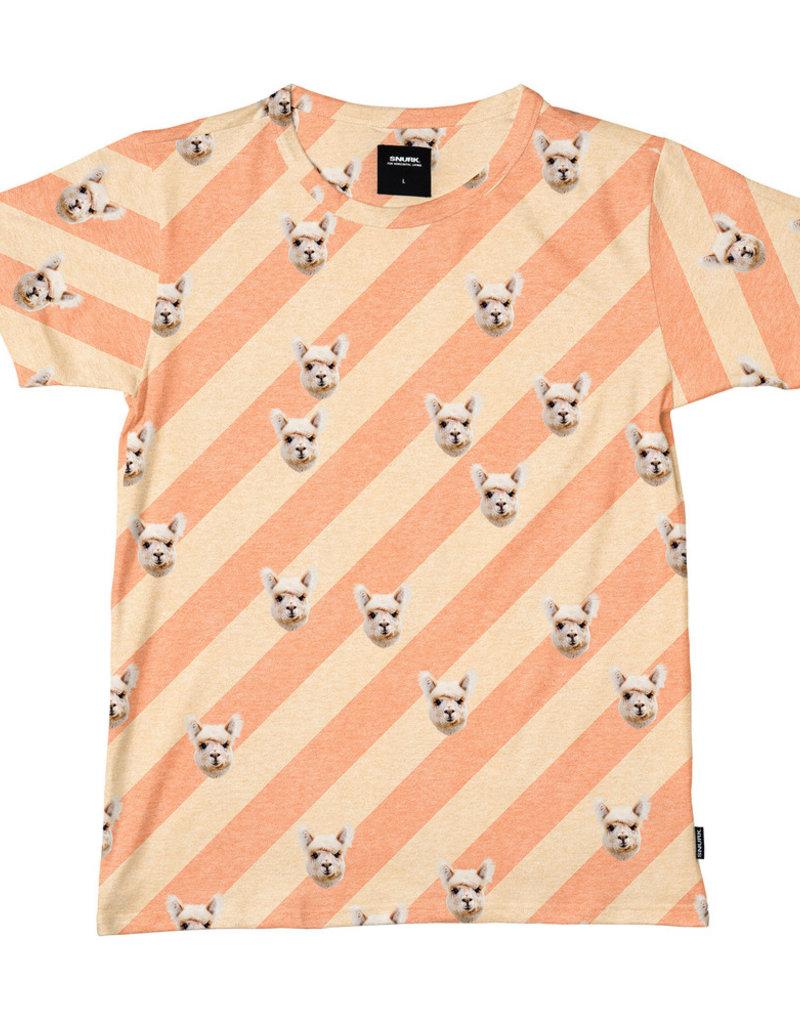 SNURK T-shirt met short Alpacas Furreal