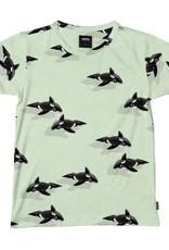 SNURK T-shirt met short Orca Green
