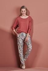 Pyjamatop 'Donna Uni - Marsala'