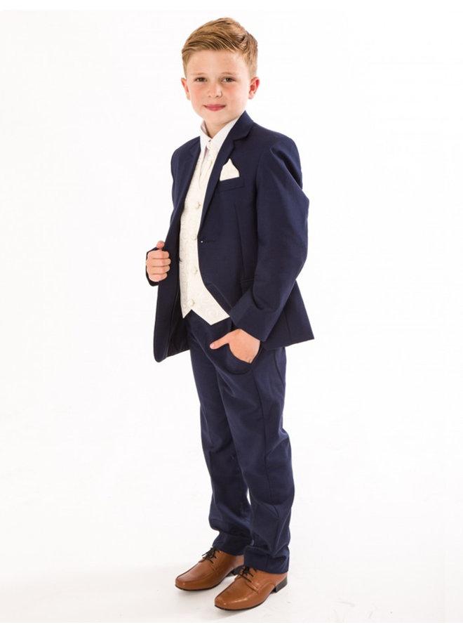 Eleganter Jungen Anzug, 6-teilig, blau - Melli-Trends