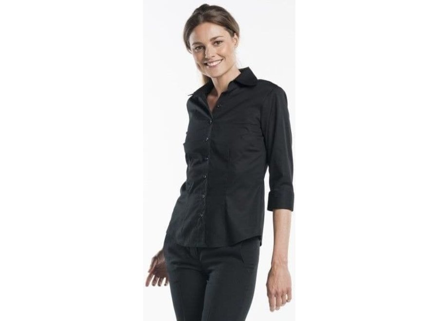 Dames blouse 3/4 mouw