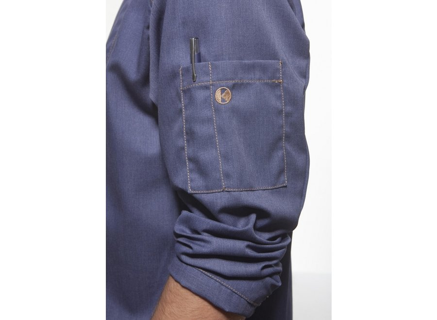 Koksjas Tennessee indigo of black denim