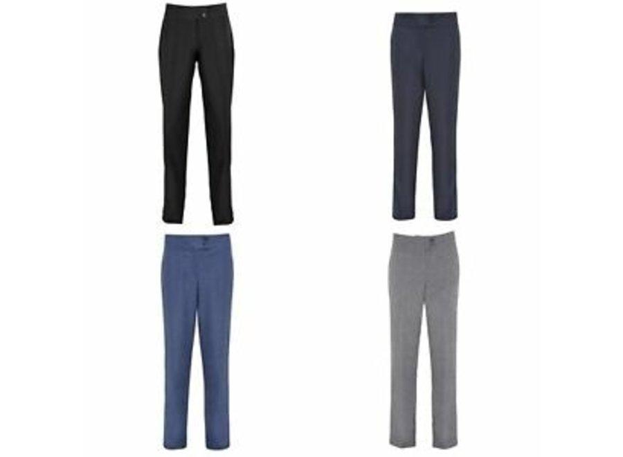 Broek salon grijs, zwart of blauw