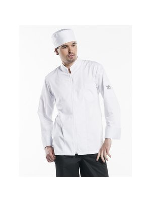Chaud Devant Chef Jacket Monza wit of zwart
