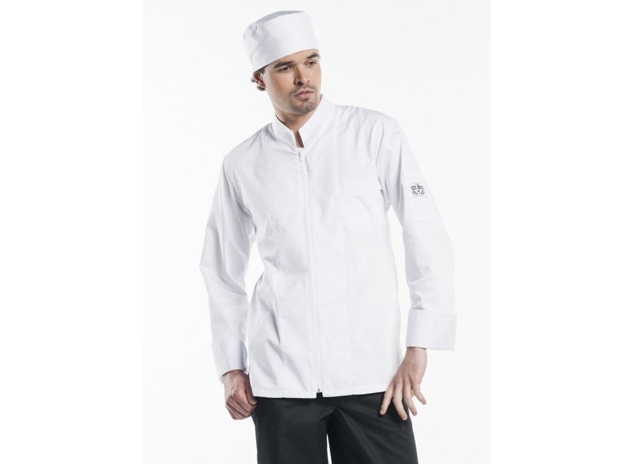 Chef Jacket Monza wit of zwart