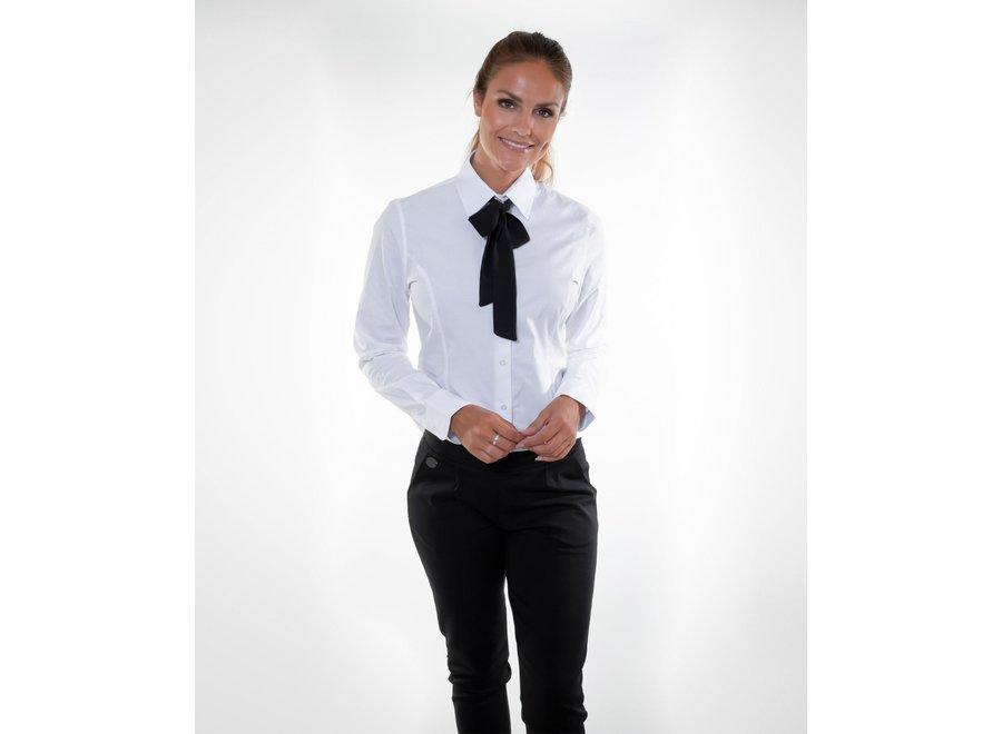 Damessjaal Lille wit of zwart
