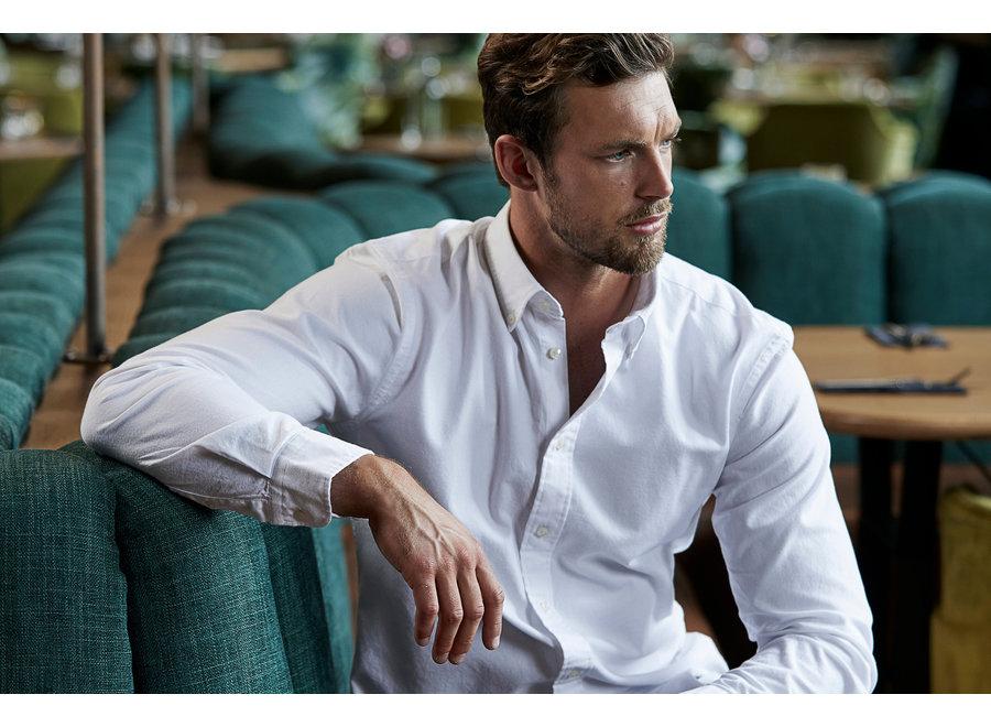 Perfect Oxford shirt heren in 4 kleuren