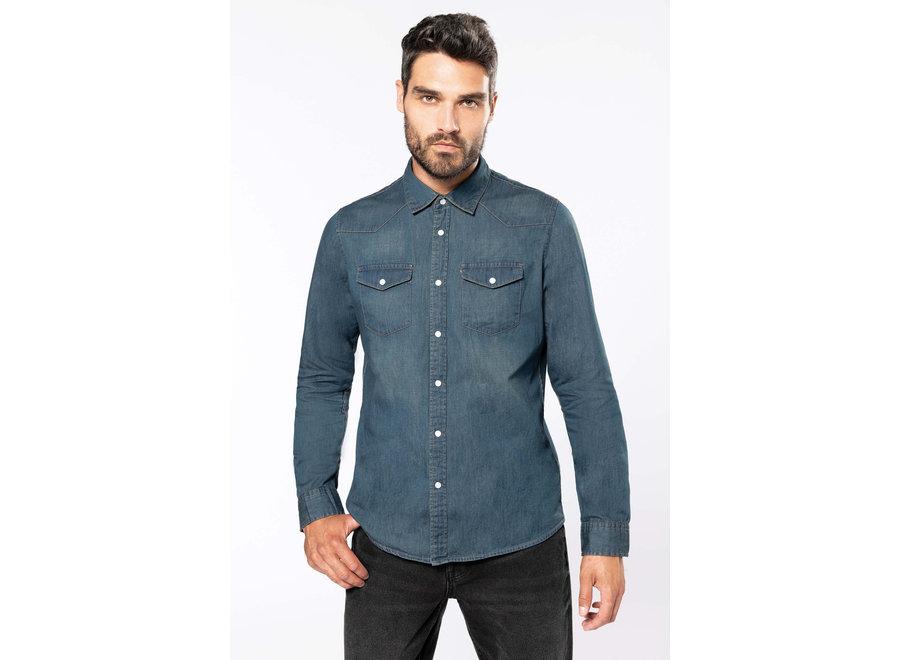 Overhemd Denim heren
