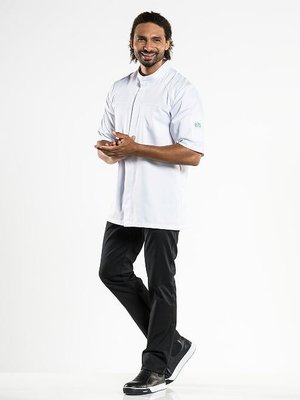Chaud Devant Chef Jacket Salerno RPB white korte mouw