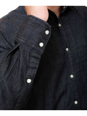 Company Fits Jeanshemd Perth stretch - grijs of blauw