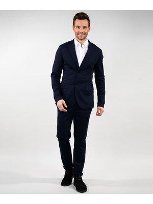 Company Fits Blazer Sydney stretch sweat zwart of blauw