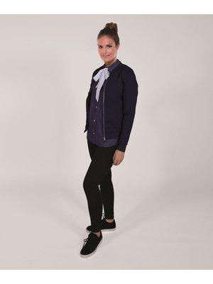 Company Fits Bomberjack dames Bursa stretch sweat blauw of zwart