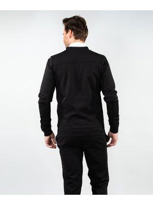 Company Fits Bomberjack stretch sweat blauw of zwart