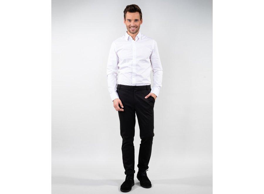 Heren pantalon Cyprus stretch zwart of blauw