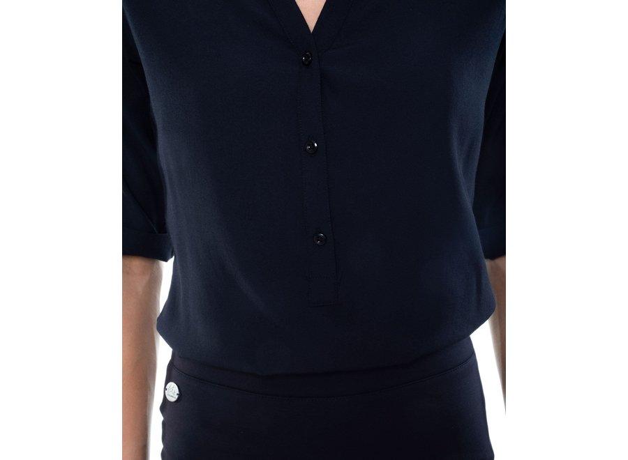 Tuniek Lyon dames zwart of blauw
