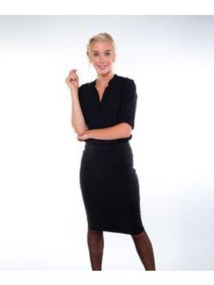 Company Fits Tuniek Lyon dames zwart of blauw
