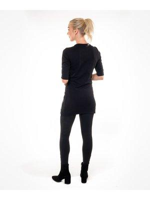 Company Fits Dames sweatjurk Lima Zwart