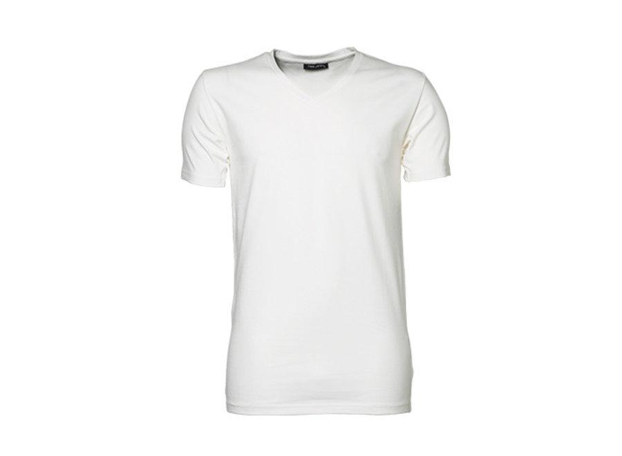 T-shirt heren v-hals katoen in 3 kleuren biologisch katoen