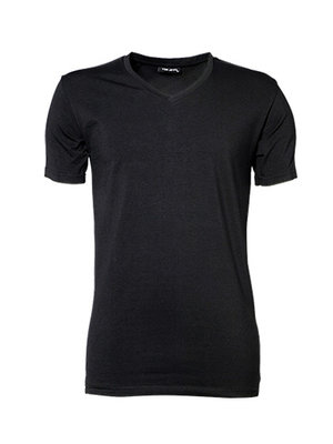 Teejays T-shirt heren stretch  v-hals katoen in 3 kleuren