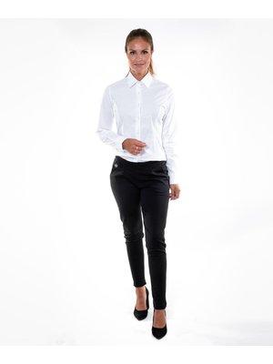 Company Fits Damesblouse Sofia wit met stretch