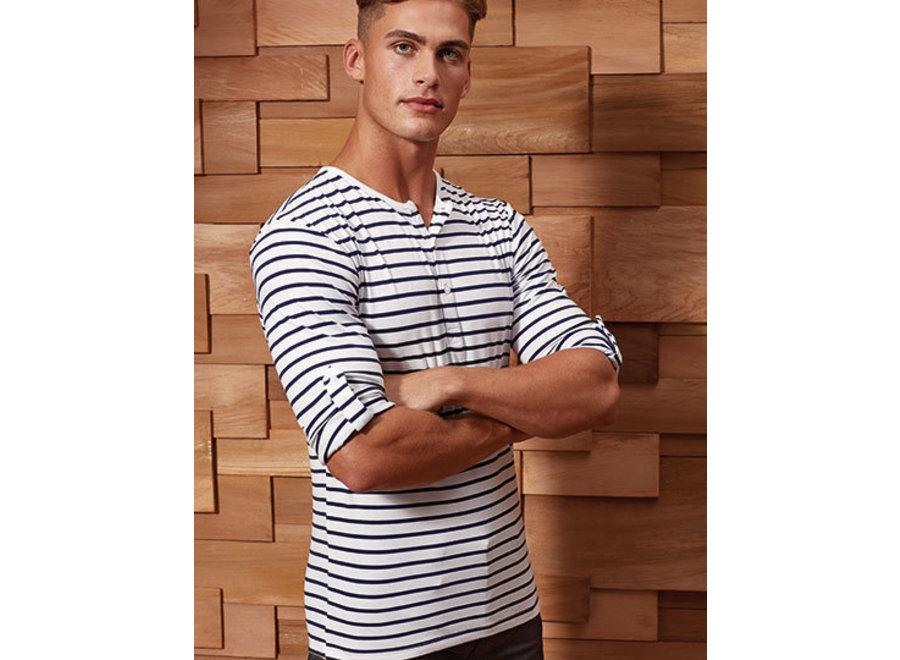 Shirt Heren Long-John Roll in 5 kleuren