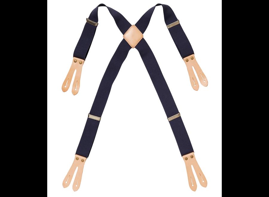 Elastische bretels bij schort canvas 4078