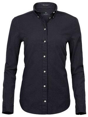 Teejays Perfect Oxford shirt dames in 4 kleuren