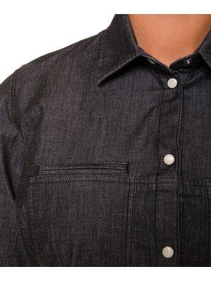 Company Fits Spijkerblouse Fez stretch - grijs of blauw