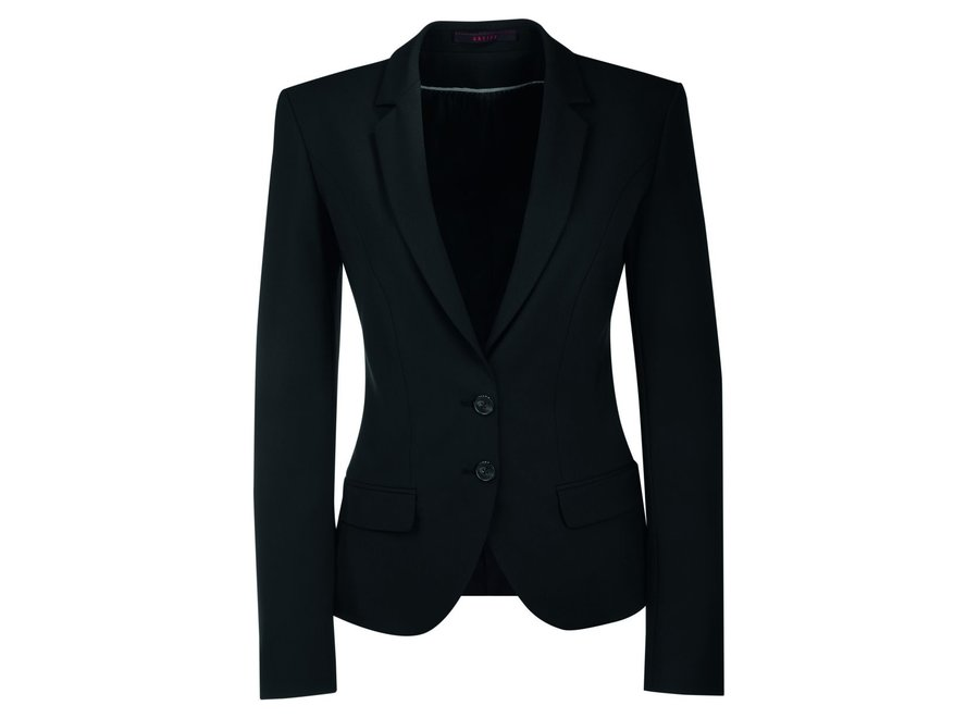 Dames blazer - wasmachine wasbaar / vuil en water afstotend - slim fit