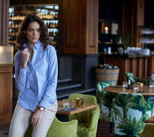 Overhemden en blouses bedrijfskleding