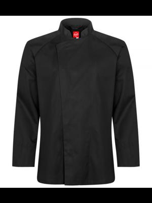 Segers Koksjas in zwart of wit