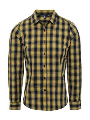 Premier Geruite blouse dames  in 3 kleuren