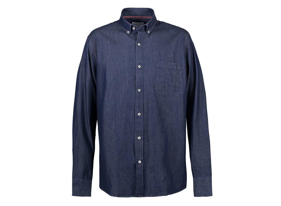 Comfortabel jeanshemd heren