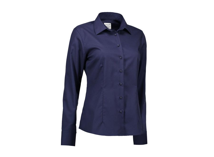 Non Iron Dames overhemd - Fine Twill - Modern Fit in 5 kleuren