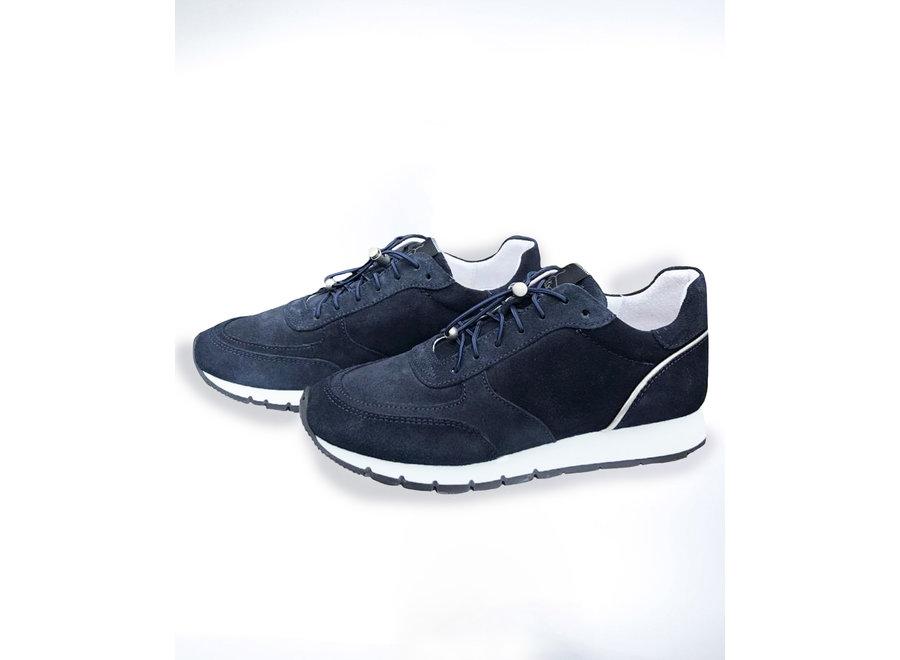 Sneakers donker blauw